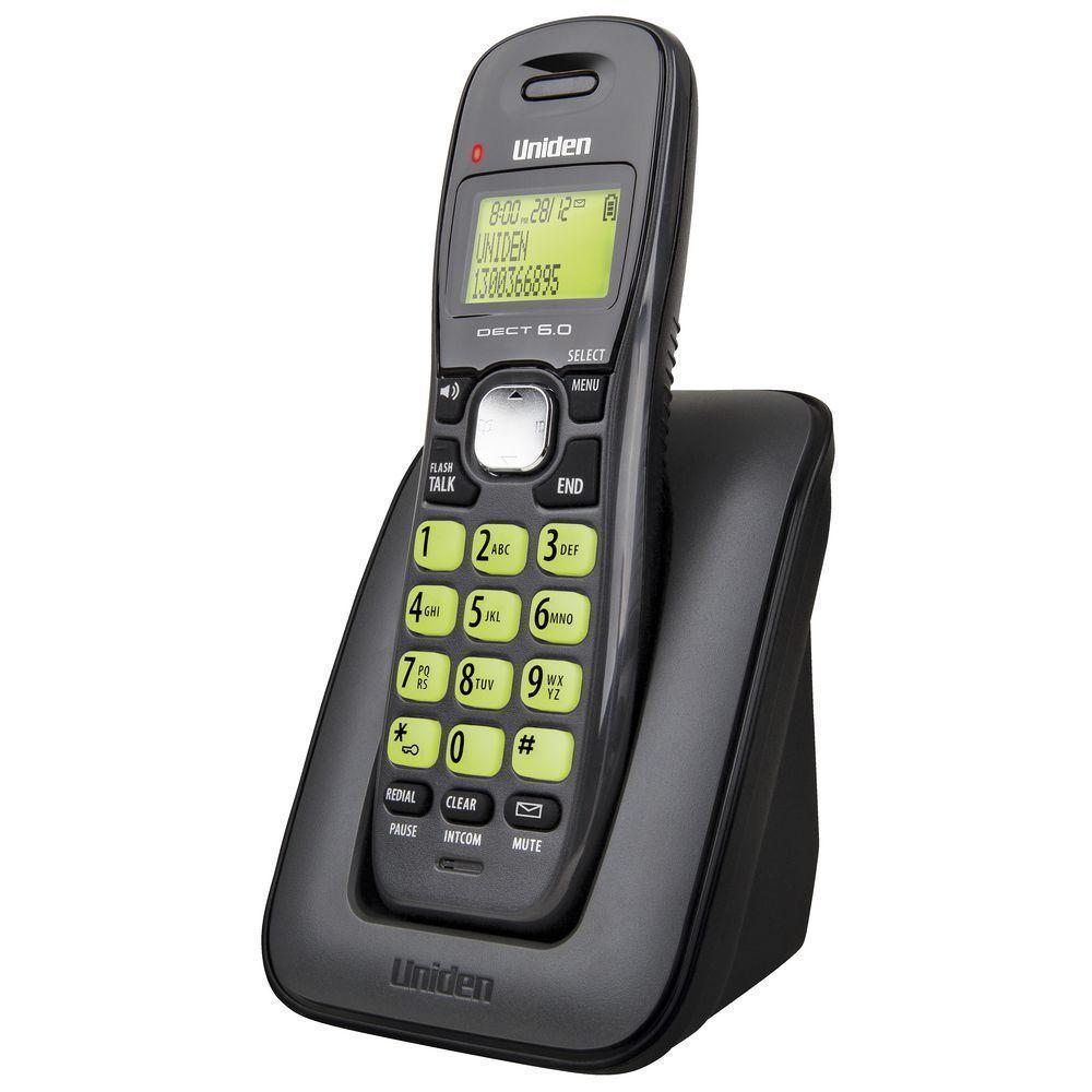 UNIDEN DECT 1615 CORDLESS PHONE 1 HANDSET TELEPHONE [16