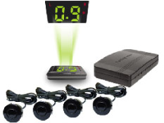 Axis 232 Hud Heads Up Display Speed Amp Parking Alert 4