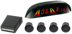AXIS APS-4- 4 SENSOR PARKING SYSTEM W LED DISPLAY