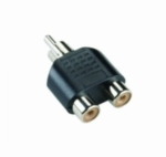 RCA M TO 2 X RCA F ADAPTER