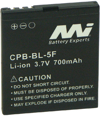 NOKIA BL-5F BL5F REPLACEMENT MOBILE PHONE BATTERY