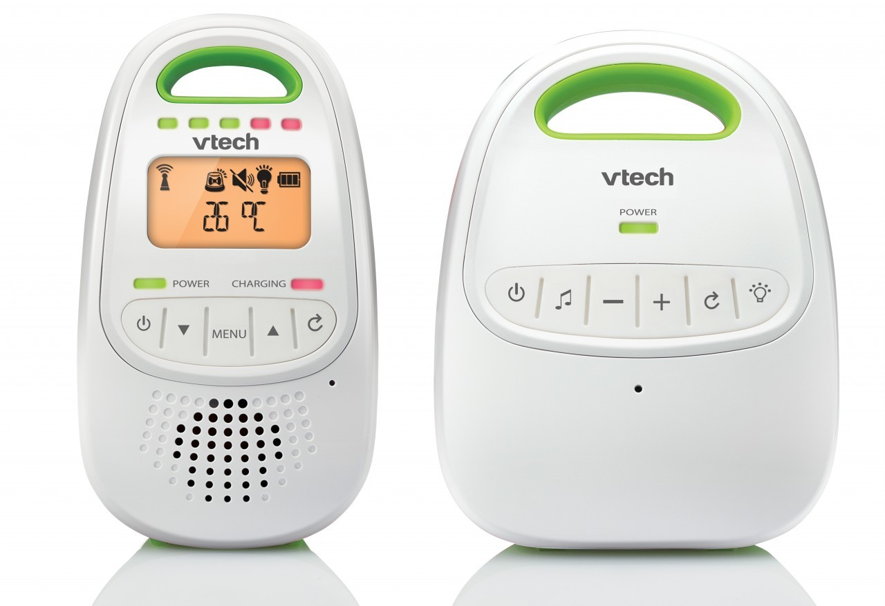 vtech bm2000 safe sound audio 1 8ghz digital baby mon. Black Bedroom Furniture Sets. Home Design Ideas