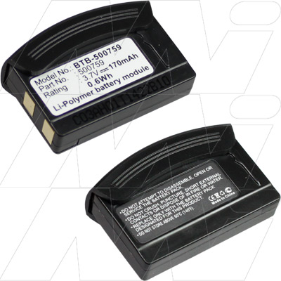 Wireless Headset Battery to Replace 500759
