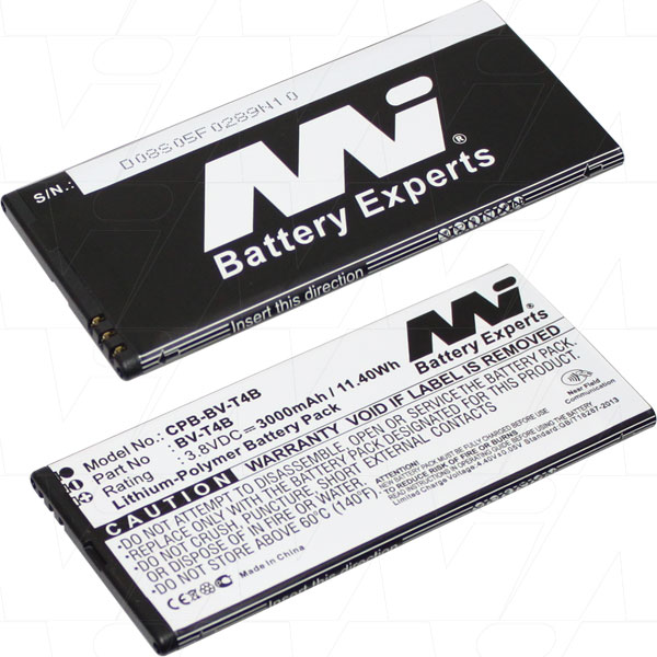 MICROSOFT NOKIA LUMIA CPB-BV-T4B-BP1 REPLACMENT BATTERY