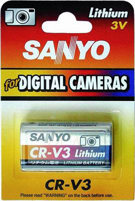 SANYO DIGITAL LITHIUM CAMERA BATTERY - CRV3S-BP1