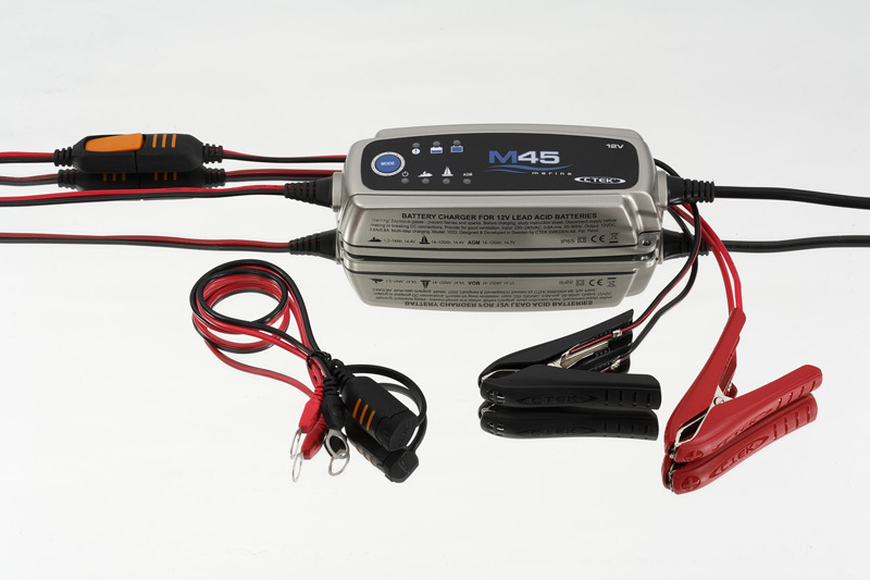 CTEK M45 3.6A 12V MARINE TRICKLE BATTERY CHARGER DEEP CYCLE BOAT