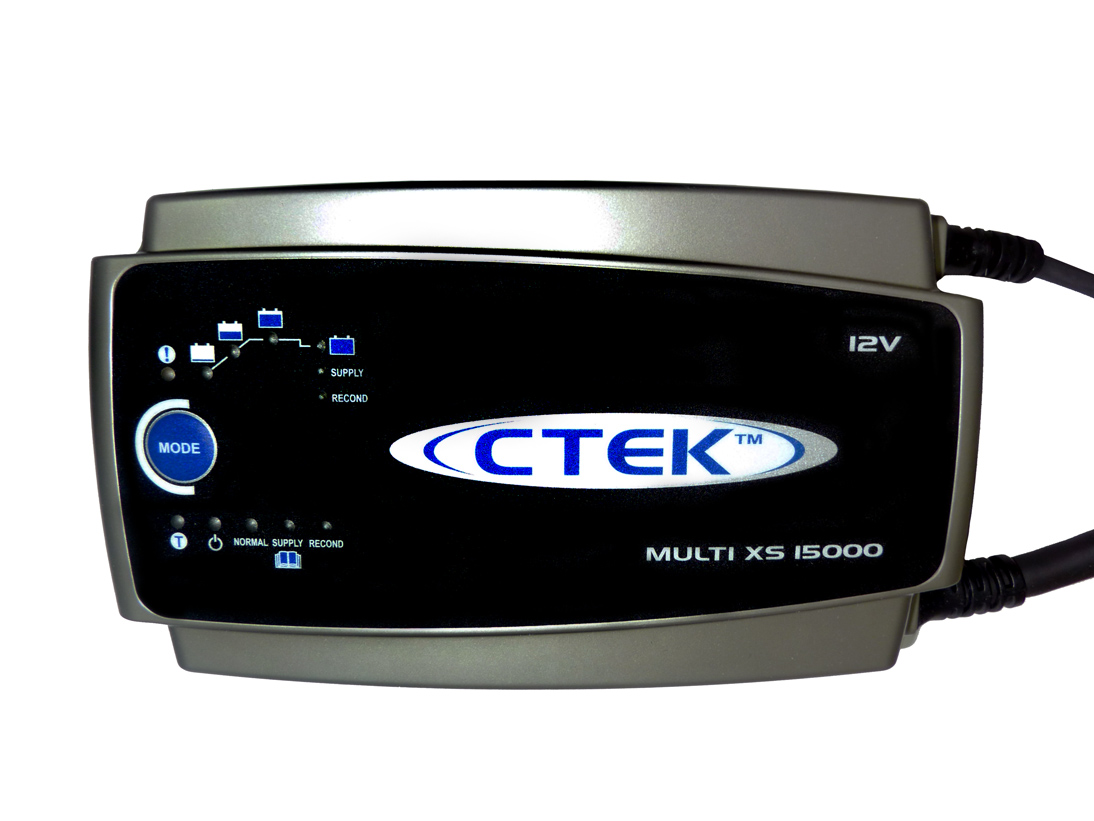 Ctek Mxs15 Battery Charger 15a 12v For Caravan Car Mxs