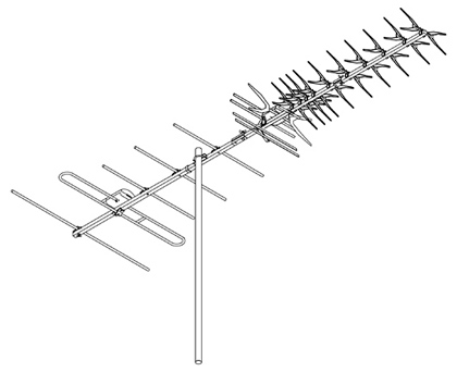 DIGIMATCH DG49 VHF UHF OUTDOOR ANTENNA