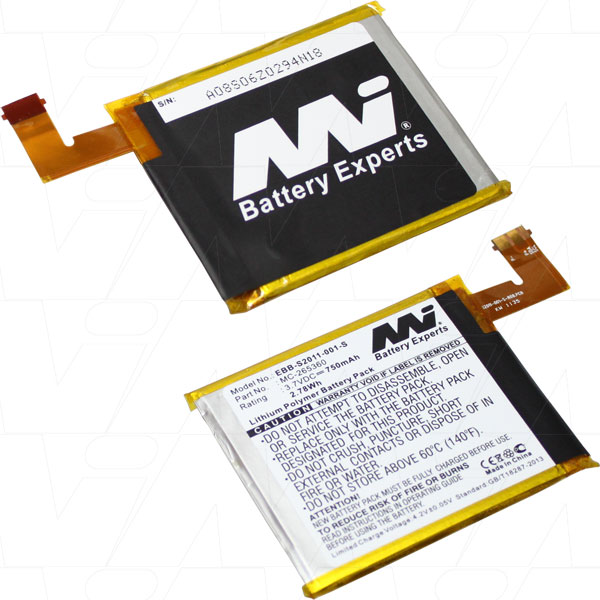 AMAZON KINDLE EBB-S2011-001-S-BP1 REPLACEMENT BATTERY A