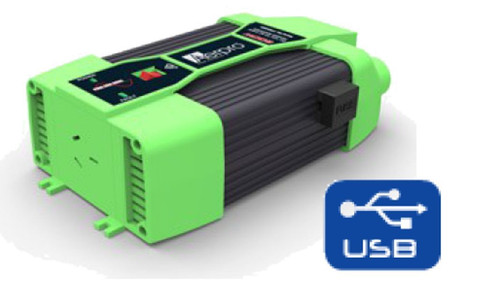 PURE SINE WAVE FTS600P DC 12V TO AC 220-240V-600W POWER INVERTER