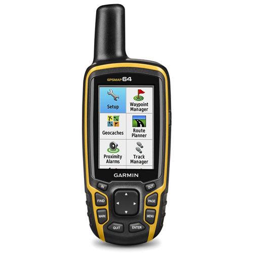 GARMIN GPSMAP64 HANDHELD WITH GPS GLONASS COMBINED