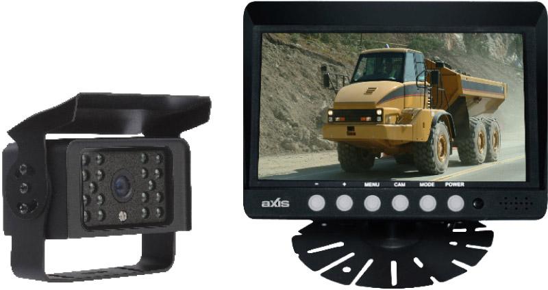 Axis Heavy Duty 7 Monitor C10 Ccd Reversing Camera Kit