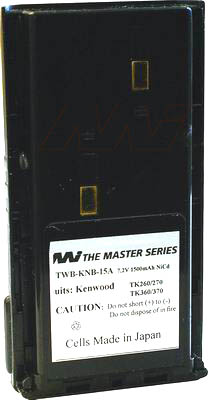 KENWOOD AFTERMARKET KNB24L UHF RADIO BATTERY