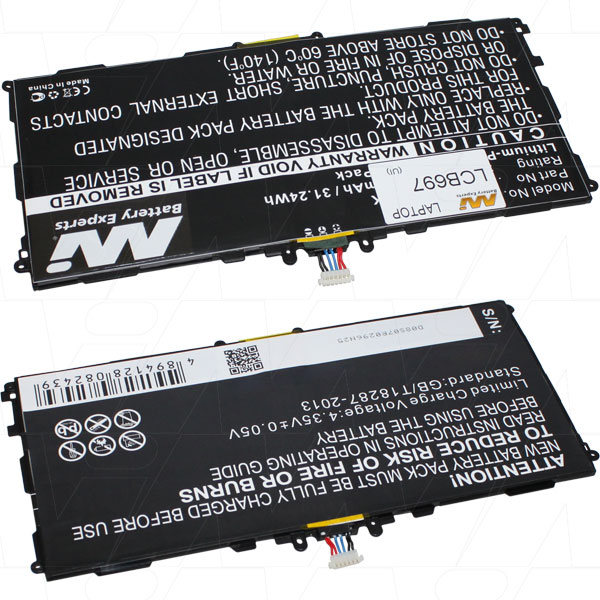 Samsung LCB697 NOTEBOOK AND LAPTOP BATTERY
