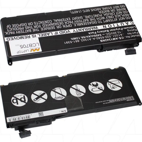 APPLE LCB705 NOTEBOOK & LAPTOP BATTERY