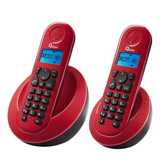 Oricom M900 2 Dect Digital Cordless Phone Red Au 64 95