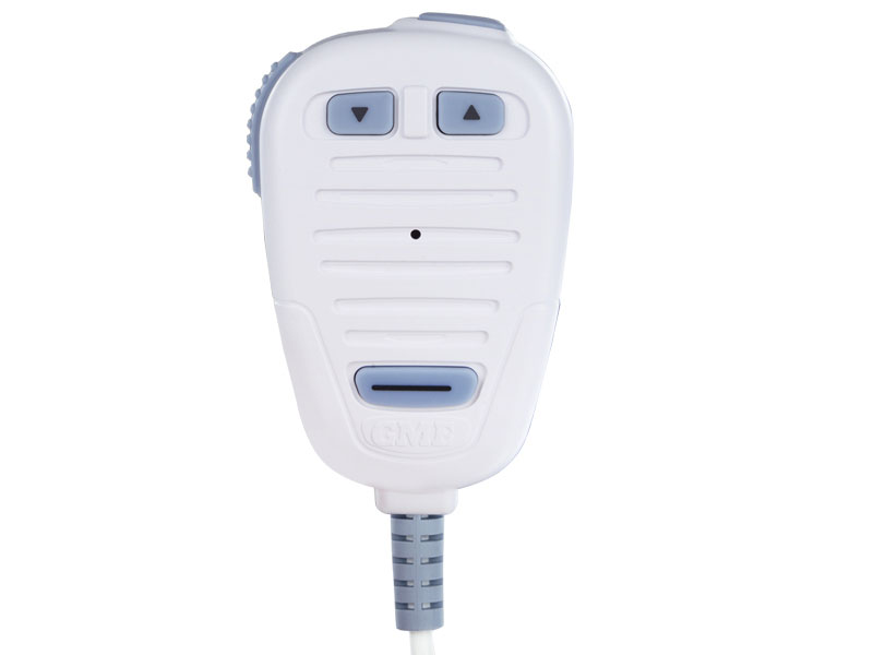 GME MC511W MARINE WHITE MICROPHONE WITH COIL CABLE SUIT GX600AW