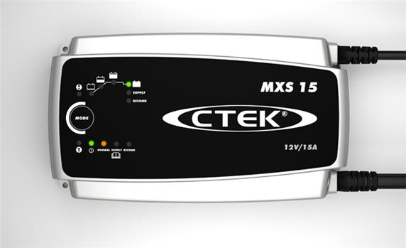 Ctek Mxs15 Battery Charger 15a 12v For Caravan Car Mxs