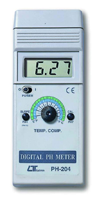 Ph METER - GENERAL PURPOSE Ph ELECTRODE OPTIONAL - PH204