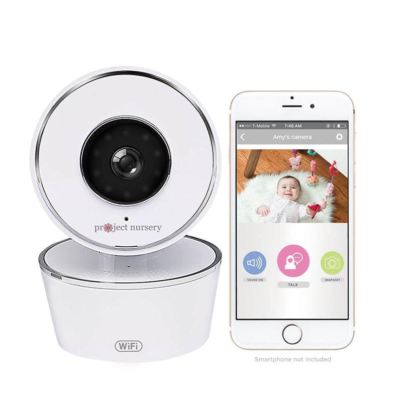 Project Nursery Pnmwifiac Smart Wifi Video Baby Monitor