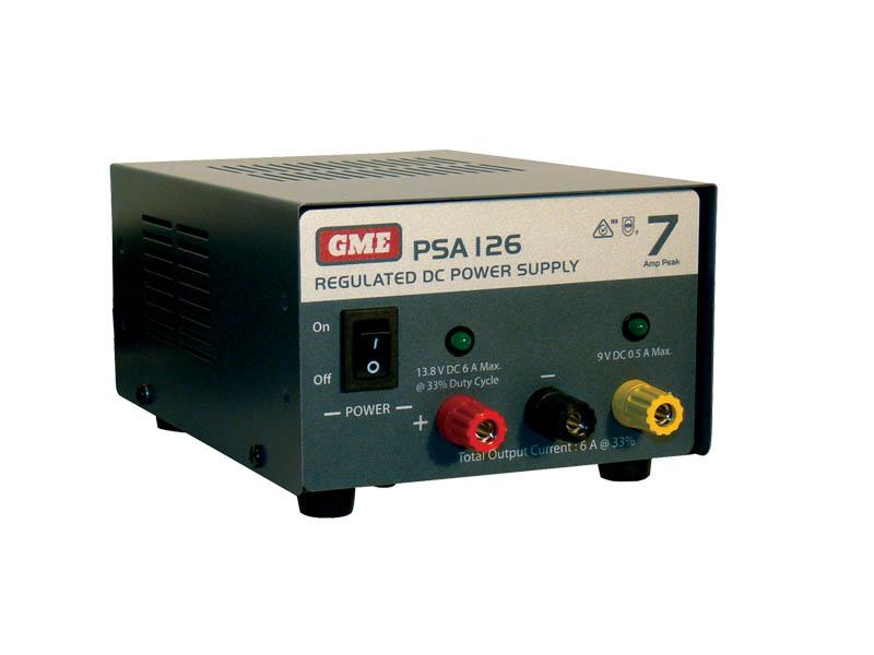 Gme Psa1210 11 Amp Dual Voltage Power Supply Psa1210