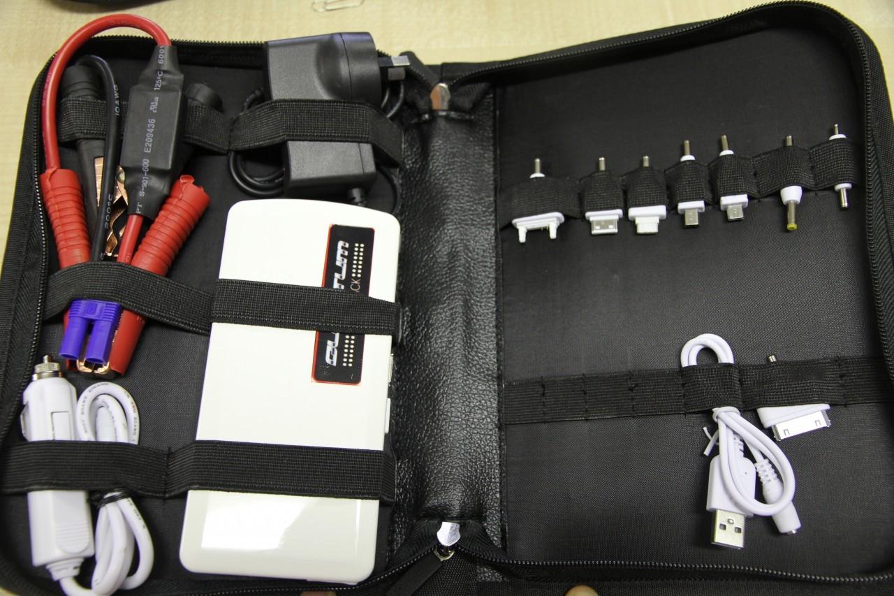 Quantum Battery Backup Charging Amp Jumper Lead Power Pac