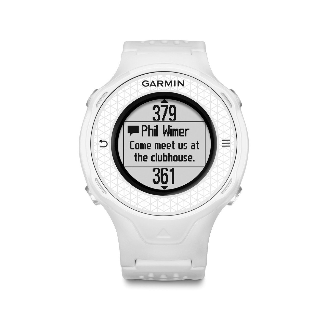 GARMIN APPROACH S4 WHITE WATCH AND GPS