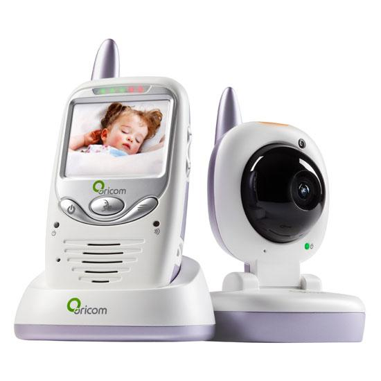 oricom secure 700 2 4ghz wireless video baby monitor au. Black Bedroom Furniture Sets. Home Design Ideas