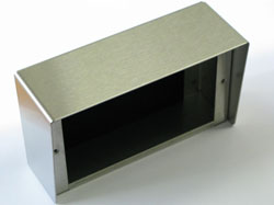 STAINLESS STEEL DECT SURFACE MOUNT CABINET