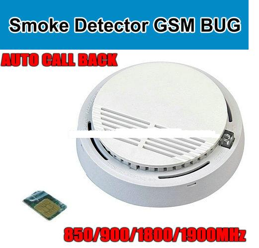 Lightningcell Smoke Detector Gsm Bug Listening Device