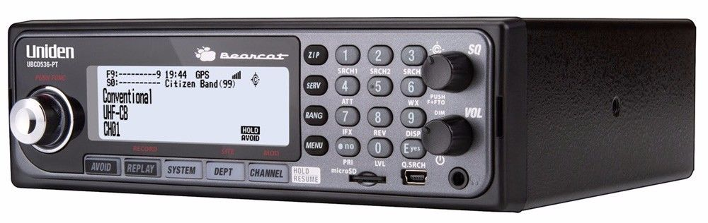 UNIDEN UBCD536-PT DIGITAL SCANNER CFA RADIO APCO PHASE II 2 AUST