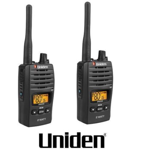 Uniden Uh820s 2 2w Uhf Twin Deluxe Handheld Radio Uh82