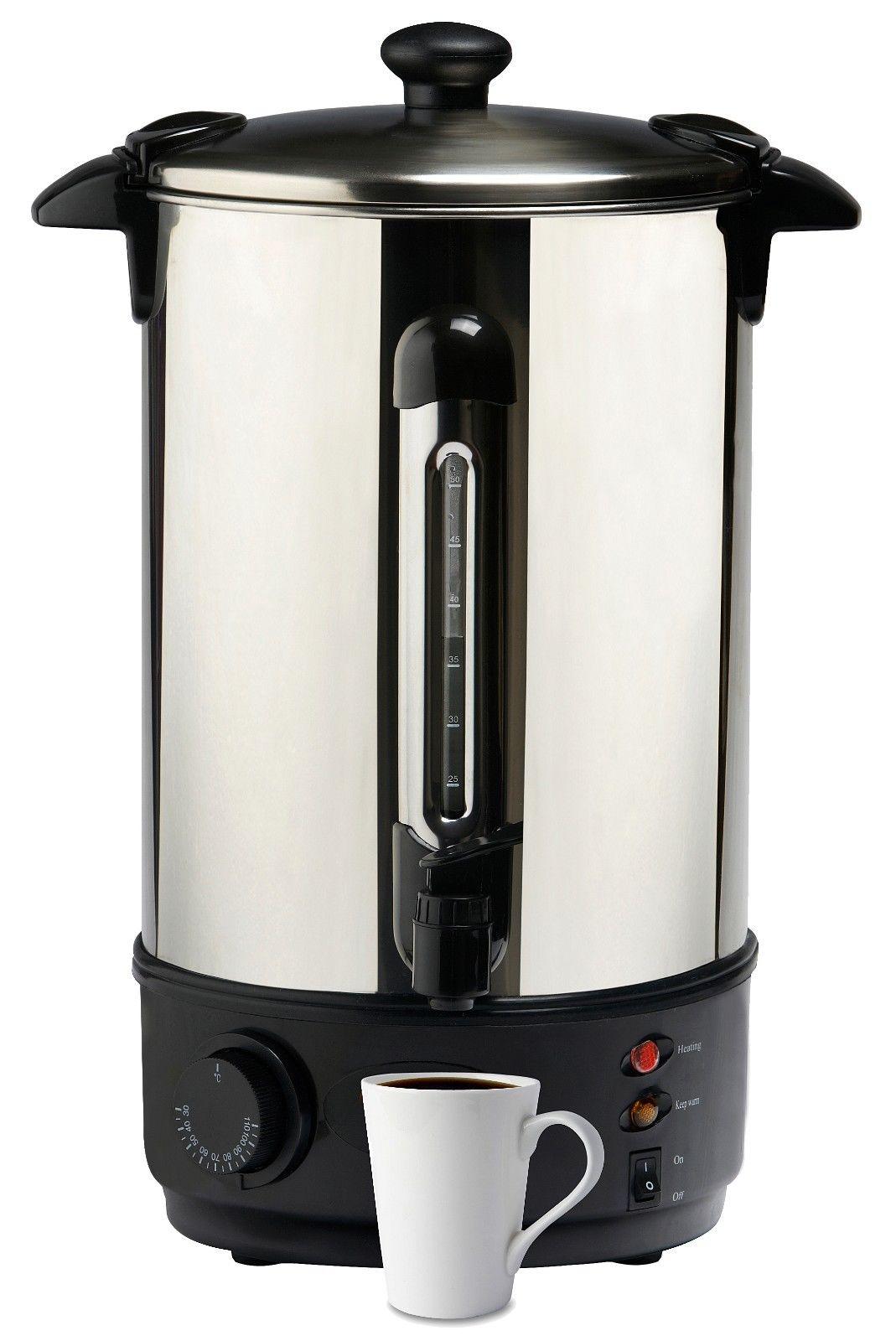 Lenoxx Ur10 10l Urn Boiler Hot Water Stainless Steel Ta