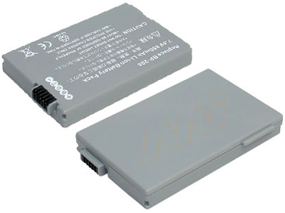 CANON VIDEO CAMERA BATTERY - VB-BP208