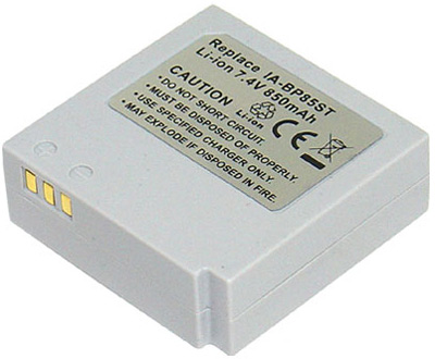 SAMSUNG VIDEO CAMERA BATTERY - VB-IA-BP85ST