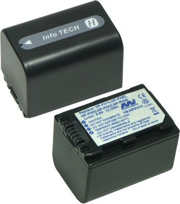 SONY VIDEO CAMERA BATTERY - VB-NPFH70