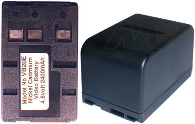 PANASONIC VIDEO CAMERA BATTERY - VB20E
