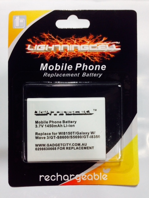 Battery For Samsung Galaxy W i8150T i8350/T S5690 Xcover S8600 W