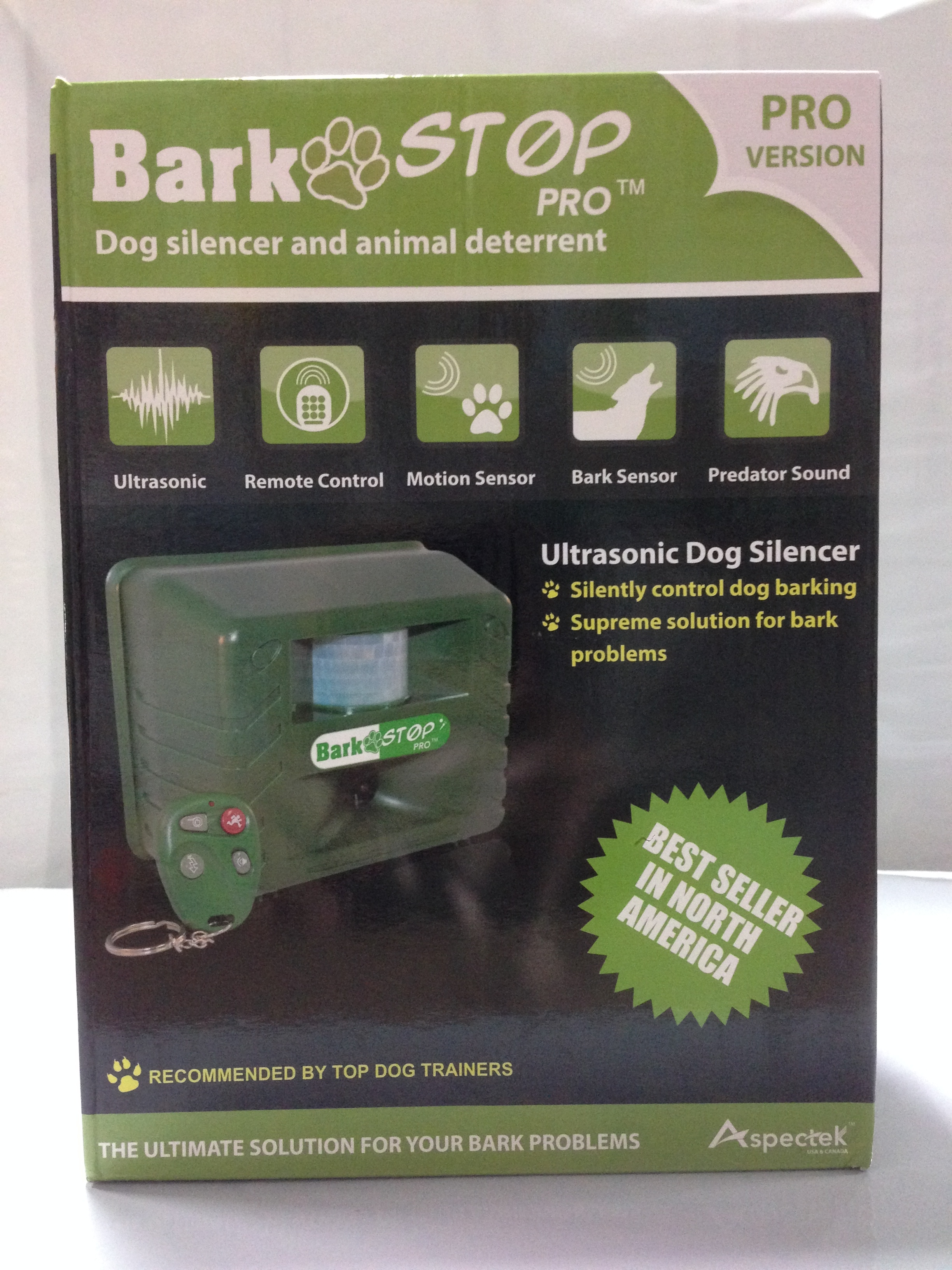 Bark prevention devices