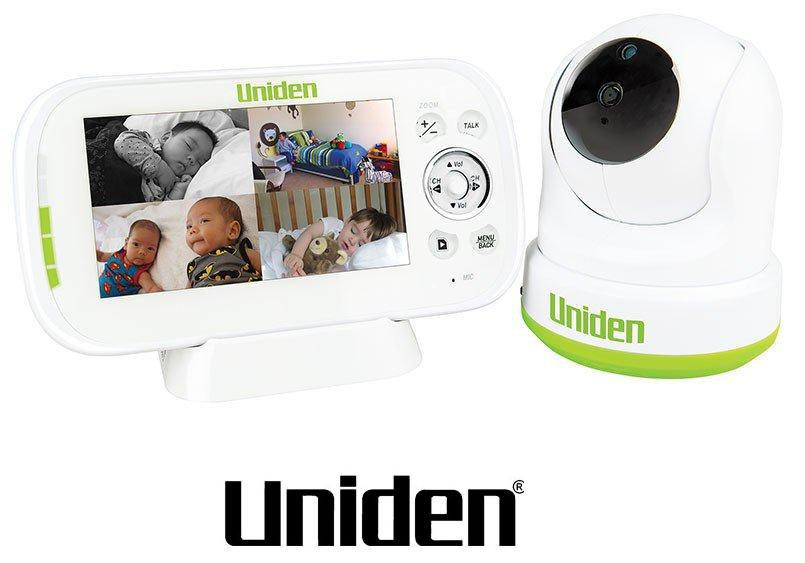 "UNIDEN BW3451R 4.3"" WIRELESS BABY MONITOR PAN TILT REMOTE VIEW"