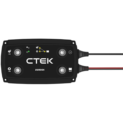 Ctek D250sa Dual Battery Charger Dc To Dc 12v Dc Car Ag