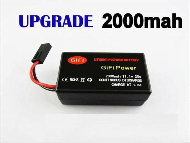 AFTERMARKET BATTERY FOR AR.DRONE 2.0 HELICOPTER QUADRICOPTER