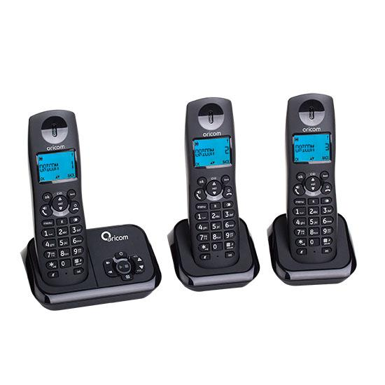 ORICOM ECO720-3 DECT DIGITAL CORLDESS PHONE