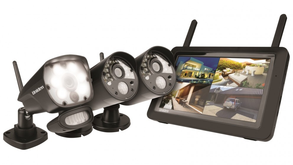 Uniden Guardian G3721L Full HD Wireless Surveillance System with