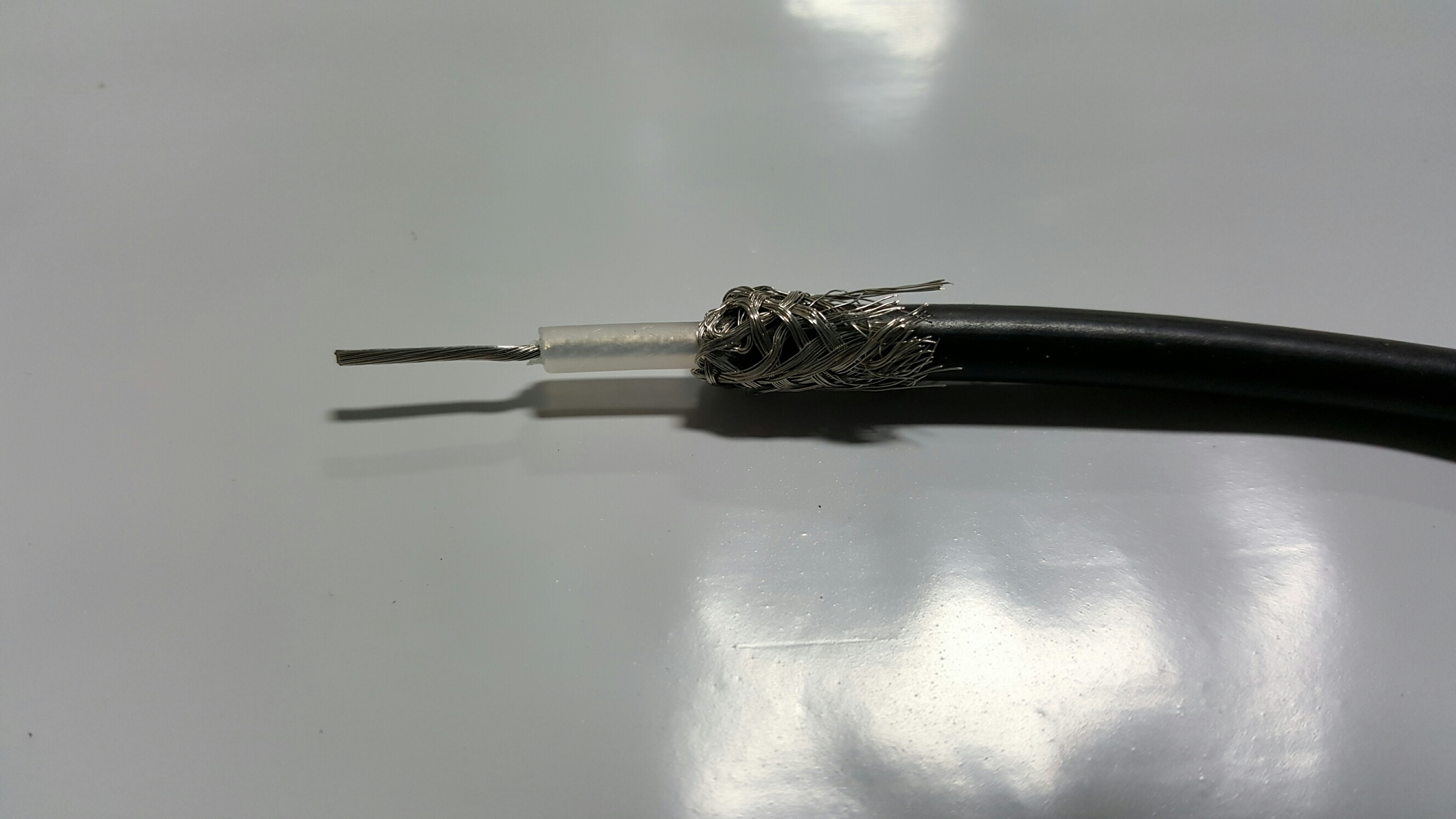 CUTTING A UHF CABLE TO CONNECT TO PL259