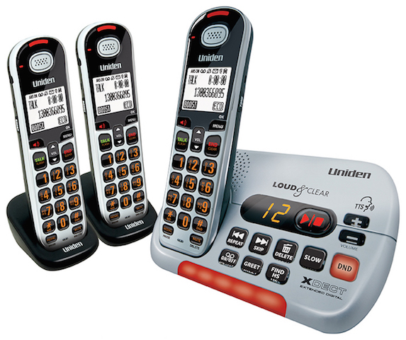 Uniden Sse35 2 Visual Amp Hearing Impaired Cordless Phone