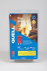 Fire Blanket Quell Chubb Premium Large 1Mtr Safety Kitchen Fire