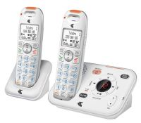 TELSTRA 13350 TWIN 2 HANDSET DECT6.0 CORDLESS PHONE+ANSWERER
