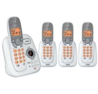 VTECH 17250 DECT 4 HANDSET QUAD CORDLESS PHONE PACK 1 YR WTY