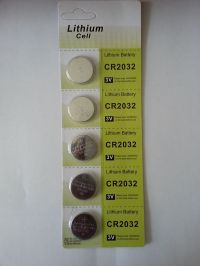 5 X LITHIUM BUTTON COIN CELL CR2032 3V BATTERY FOR MEMORY &TOYS